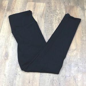 Yummie Tummie Black Spandex Shapewear Leggings